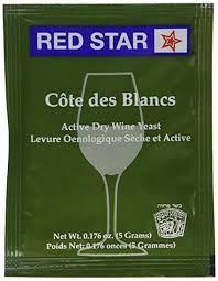 Fermento / Levedura Red Star - Premier Cote Des Blanc