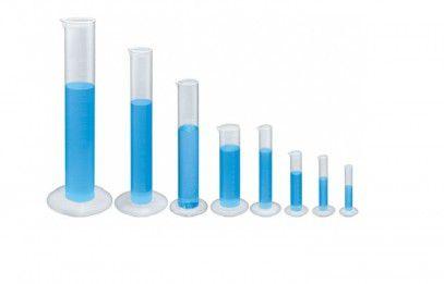 Proveta Branca de Plástico 100ml para Densímetro
