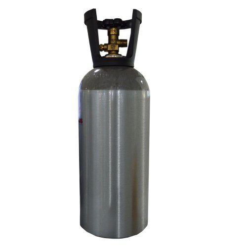 Cilindro de CO2 e N2 em alumínio 6,8kg / 10L