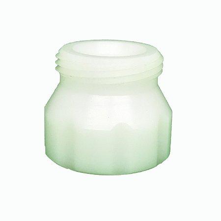 Adaptador para garrafa Pet com junta de silicone