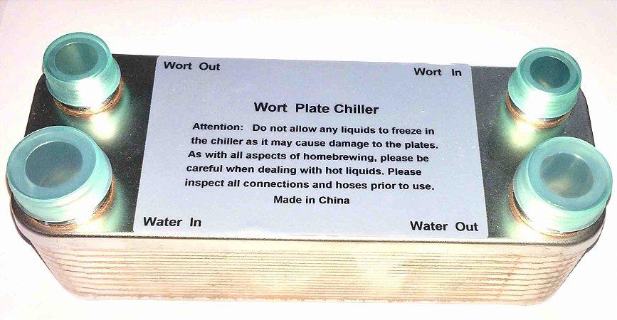 Chiller de Placas 20 Plate Wort Cooler