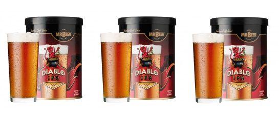 Promoção Mr Beer - Leve 3 e Pague 2: Diablo IPA