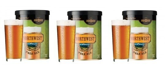 Promoção Mr Beer - Leve 3 e Pague 2: Northwest Pale Ale