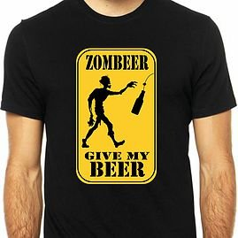 Camiseta Give my Beer-M