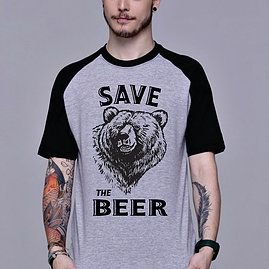 Camiseta Save the Beer-G