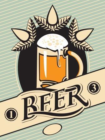 Arte de Rótulo para Cerveja Artesanal - 310