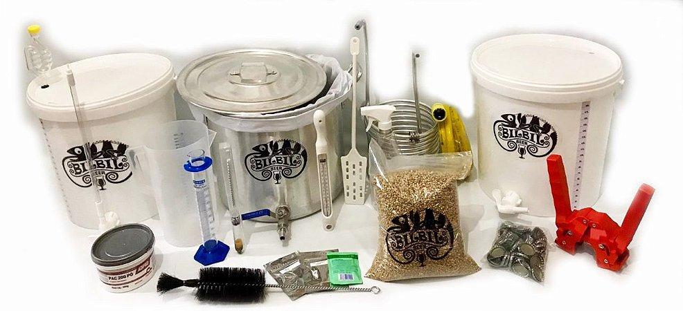 Kit Equipamentos BIAB - 10L Deluxe + Kit Kolsch