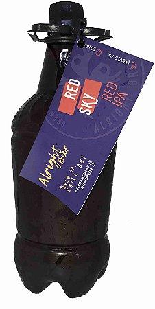 Chopp Alright Beer (growler pet 1l) - Red Sky Red Ipa