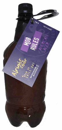 Chopp Alright Beer (growler pet 1l) - Mob Rules American Lager