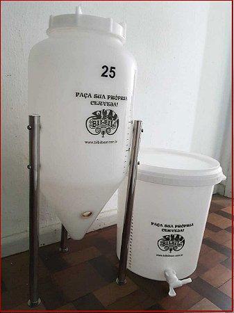 Vantagens do fermentador cônico para fabricação caseira