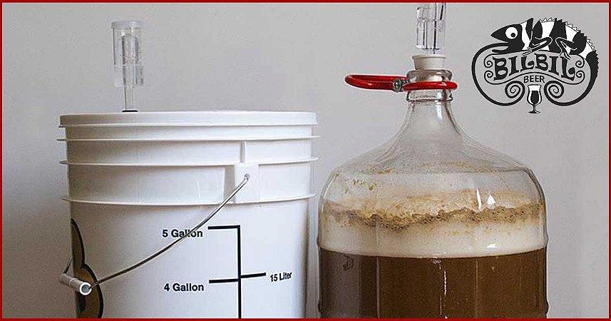 Vidro x plástico? Os melhores fermentadores para fabricação de cerveja