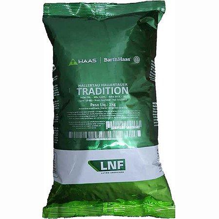 Lúpulo Hallertau Tradition Embalagem 1Kg