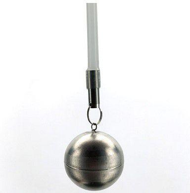 Boia de inox para Fermentador com tubo de silicone