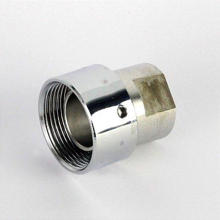 Conector de Inox para torneira de chopeira no post mix