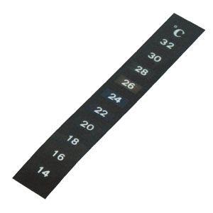 Termômetro Adesivo Vertical de 10C a 40C