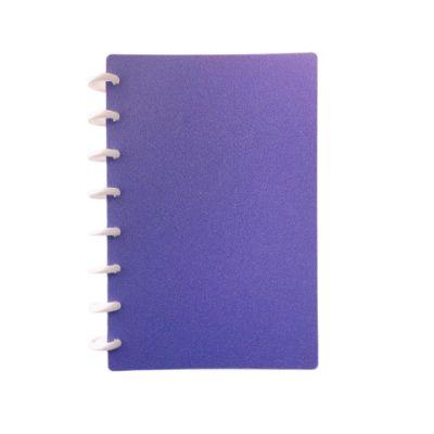 Caderno TopMagic Glitter Púrpura Colegial