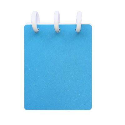 Caderneta de Bolso TopMagic Glitter Celeste