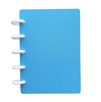 Caderno TopMagic Glitter Celeste A6
