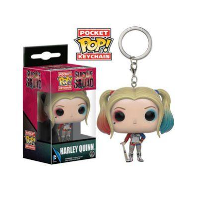 Chaveiro Pocket Pop Harley Quinn