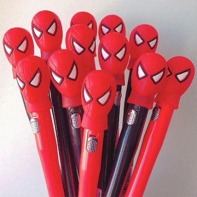 Caneta Spider Man Led