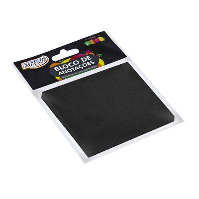 Bloco Smart Note 76x76 Preto 50 fls