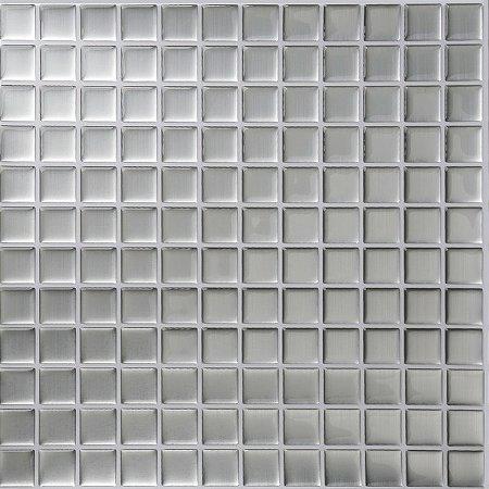 Revestimento Autoadesivo Resinado - Classic Silver