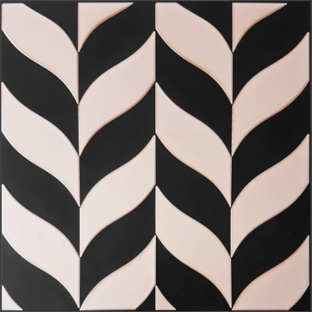 Revestimento Autoadesivo Resinado - Nature Black Rosé Gold
