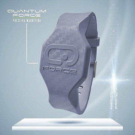 Pulseira Magnética Quantum Force - Cinza