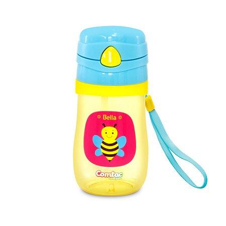 Copo Infantil Com Canudo Tritan Bella Comtac Kids 4055