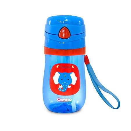 Copo Plástico sistema anti vazamento Lets GO Elefante - Charlie - 4060 Comtac Kids