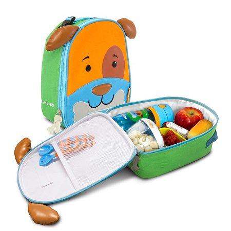 Lancheira Térmica Infantil Lets Go Cachorro Dylan 4044