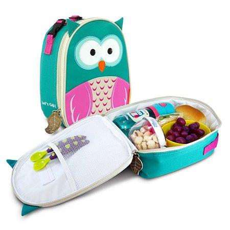 Lancheira Térmica Infantil Chloe Comtac Kids 4040