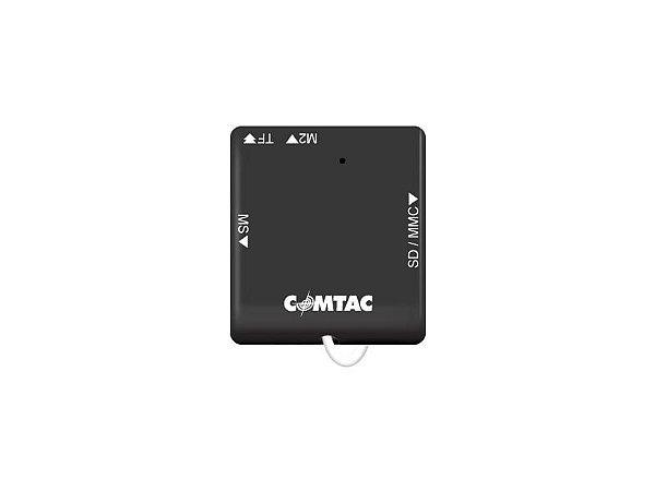 Leitor de Cartões de Memória Compact Pocket - COMTAC - 9207