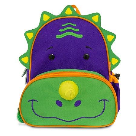 Mochila Lets Go Dinossauro - Dereck - Comtac Kids - 4045