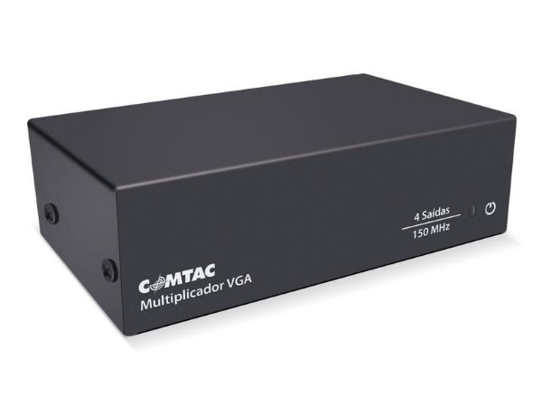 Multiplicador de Video VGA - 4 Saidas - COMTAC - 9217