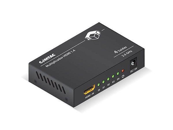 Multiplicador HDMI - 4 Saídas - COMTAC - 9286