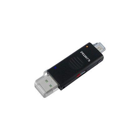 OTG Sync Leitor de Cartão de Memória 3 em 1 Comtac 9291