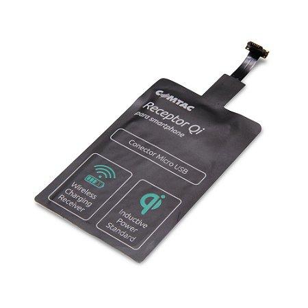Receptor De Carregamento Sem Fio Qi Micro USB Comtac 9353