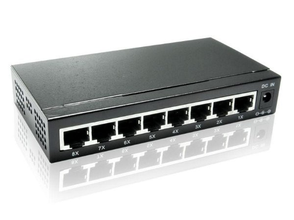 Switch Gigabit 8 portas - COMTAC - 9169
