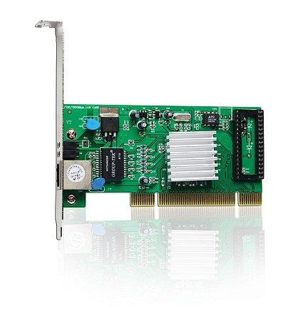 Placa de rede PCI 10/100/1000 Mbps - 9062 - OUTLET