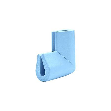 Protetor Para Quina De Mesa Vidro Formato U Comtac Kids 4227