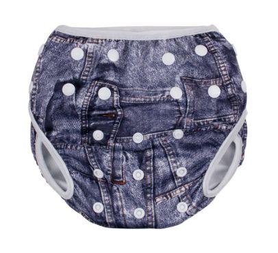 Sunguinha de piscina ajustável - jeans ( M )