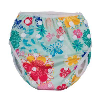 Calcinha de piscina ajustável - floral  ( M ) (59124286)
