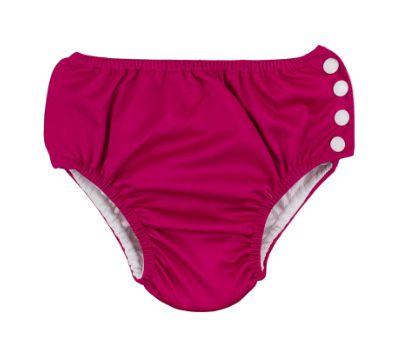 Calcinha de piscina com absorvente - pink  ( Tamanho 9  - 12 Meses )