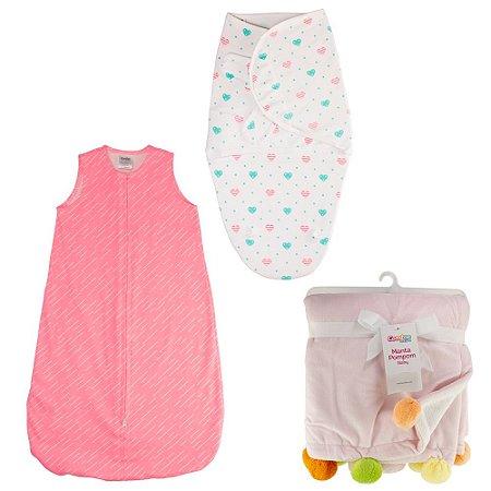 Kit Mini Enxoval Bebê Menina - Combinação 2 - 57151025