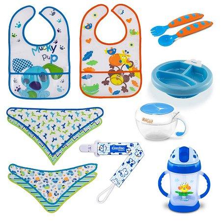 Kit Alimentação para Bebê Menino - Combo 1 - 54181000