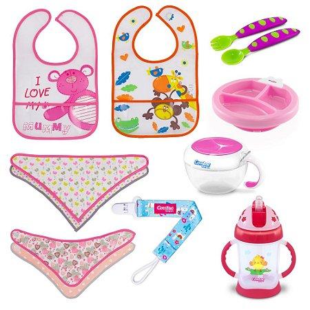 Kit Alimentação para Bebê Menina - Combo 1 - 54181014