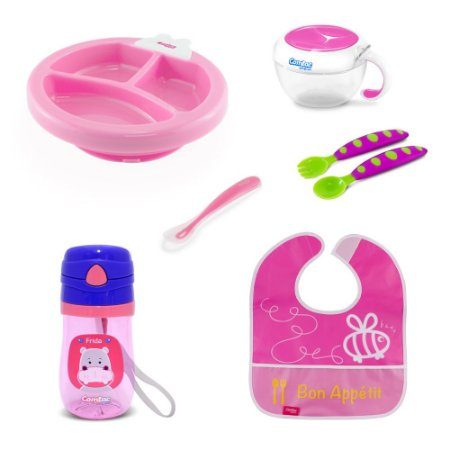 Kit Alimentação para Bebê Menina - Combo 4 - 54181017