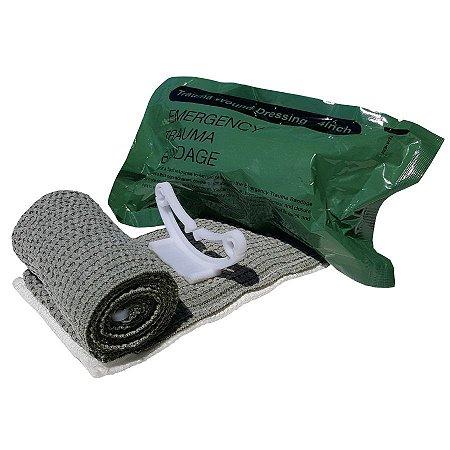 Bandagem israelense de emergência versão militar 4 polegadas
