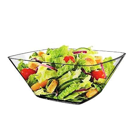 Saladeira Vidro Lisa Fiore Cisper 1,8l Grande Quadrada